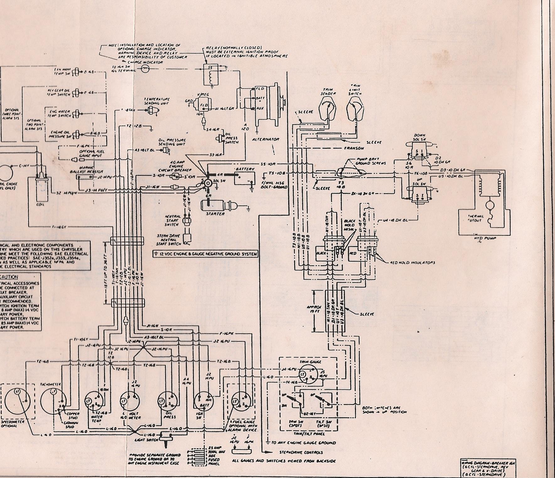 Chrysler Alternator Wiring Diagram from slantsix.org